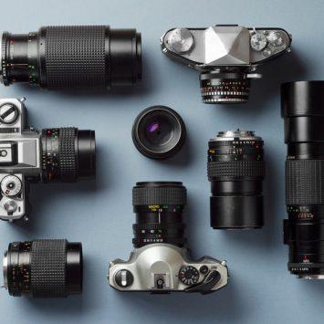 La différence entre les modèles d'appareils photo.